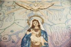 Un'opera d'arte in materiali recuperati a Teramo